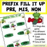 Prefix Games - Fill it Up - Pre, Mis, Non