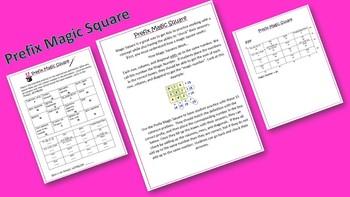 Prefix Magic Square