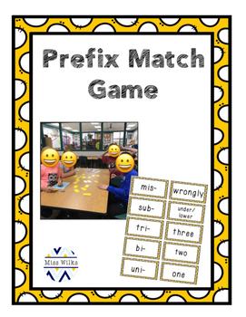 Prefix Match Game
