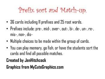 Prefix Match-Up