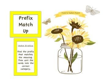 Prefix Match Up