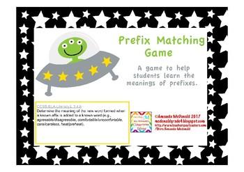 Prefix Matching Game