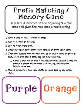 Prefix Matching / Memory Game