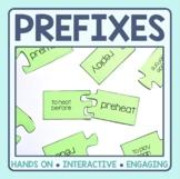 Prefix Matching Puzzles