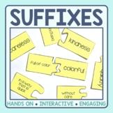 Suffix Matching Puzzles
