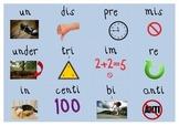 Prefix Memory Match Game AND Suffix Memory Match Game