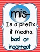 Prefix Mis- Activity CCSS