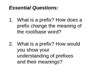 Prefix PPT