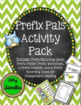 Prefix Pals Activity Pack (4 Activities!)