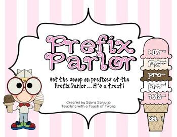 Prefix Parlor: Set 1