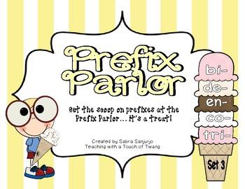 Prefix Parlor: Set 3