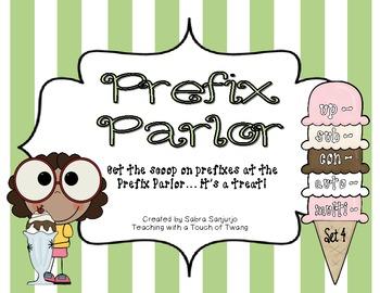 Prefix Parlor: Set 4