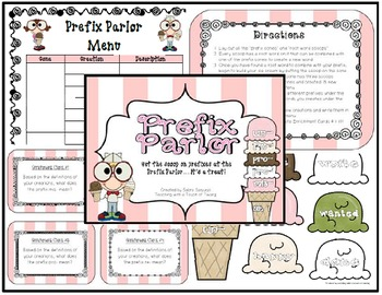 Prefix Parlor Bundle: Sets 1-4