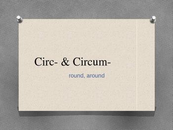 Prefix Powerpoint Circ & Circum