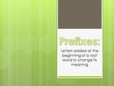 Prefix Powerpoint Presentation PPT