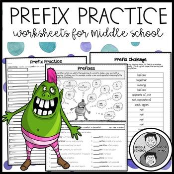 Prefix Practice Mini Lesson