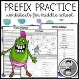 Prefix Practice Worksheets