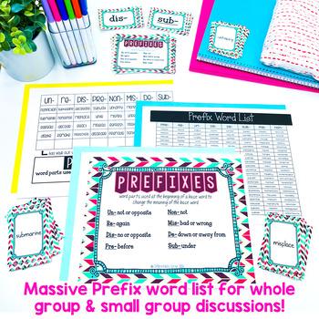 Prefix Activities