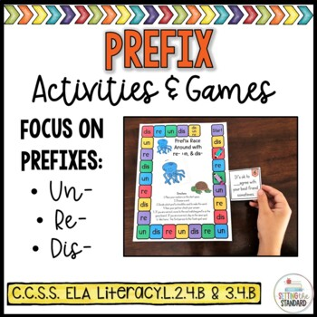 Prefix Practice with re-, un-, and dis-