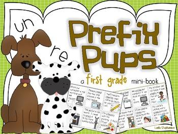 Prefix mini book teaching resources teachers pay teachers prefix pups a mini book fandeluxe Gallery
