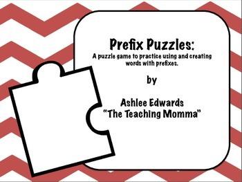 Prefix Puzzle Game