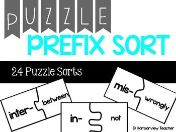 Prefix Puzzle Sort
