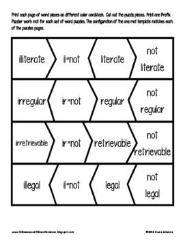 Prefix Puzzlers