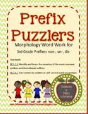 Prefix Puzzlers non-, un-, dis-