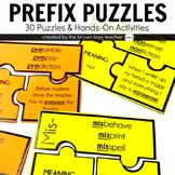 Prefix Puzzles {30 Puzzles for Middle Grades}