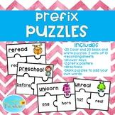 Prefix Puzzles, Prefix Posters, Prefix Activity