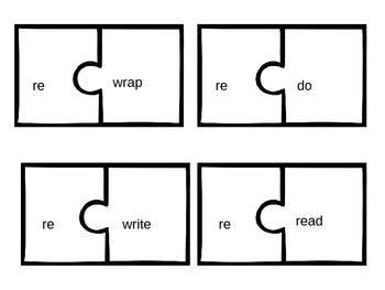 Prefix Puzzles: re, un, dis