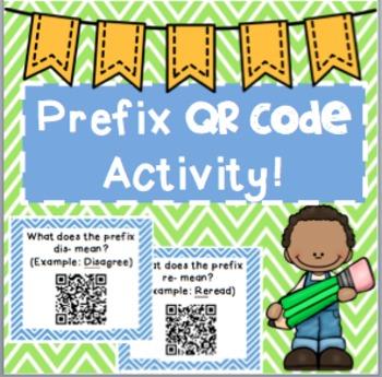 Prefix QR Code Activity
