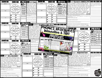 Prefix Reading Passages {Phonics Brochures}