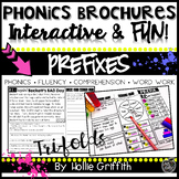 Prefix Reading Comprehension Passages and Word Work - Phonics Brochures