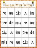 Prefix Roll and Write/Define Game