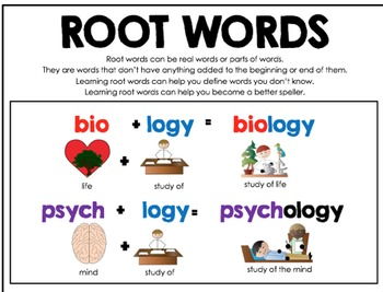 Prefix, Root, Suffix Vocabulary Megapacket, Speech therapy