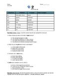 Prefix/Root/Suffix Practice: Worksheet #2