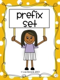 Prefix Set - Posters, Graphic Organizer, Practice Sheets,