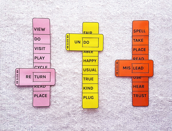 Prefix Sliders - Spelling Learning Aid