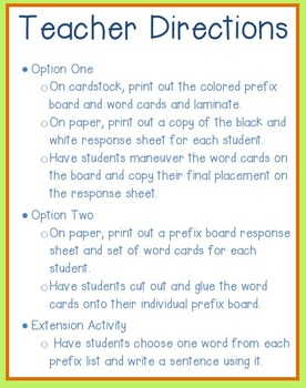 Prefix Sort and Sentences