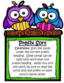 Prefix Sort-Virginia SOL Practice
