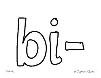 Prefix Study Bi-