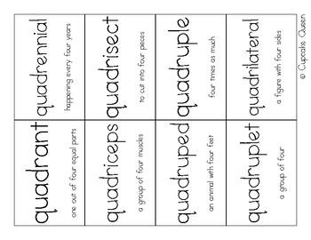 Prefix Study Quad-