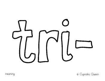 Prefix Study Tri-