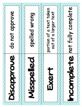 Prefix & Suffix Activities