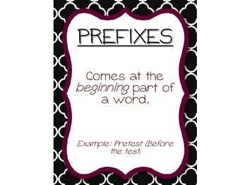 Prefix & Suffix Activity Pack [CC Aligned]