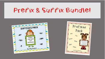 Prefix & Suffix BUNDLE!