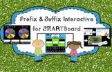 Prefix, Suffix, Base Word Practice for SMARTBoard