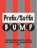 Prefix Suffix Bump