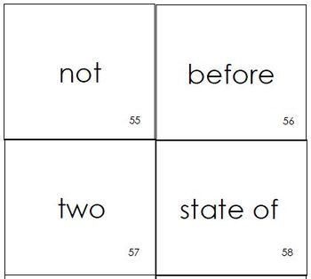 Prefix/Suffix Card Match Game